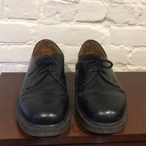 Dr. Martin 3-eye Shoes black smooth leather